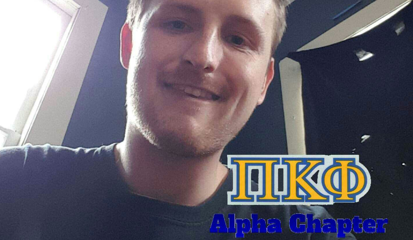 snapchat geofilter made by justin garraux for his fraternity, Pi Kappa Phi. Garraux designs